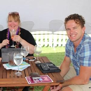 2017 Stellenbosch Wine Fest - Elmarie & Alfred