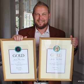 Sjaak Nelson - Jordan Wines - 2 GOLDS