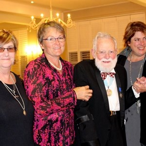 Celia Gilloway, Lorna & Dave Hughes & Lara Philp