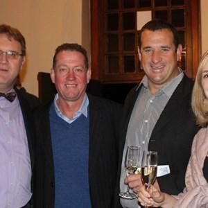 Guy Webber, Jeff Gradwell, De Wet Viljoen & Lisa-Marie Gradwell