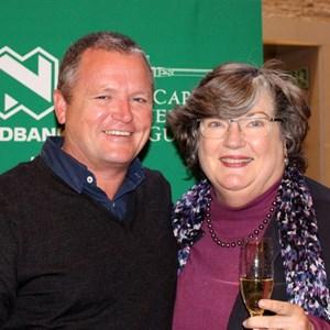 Abrie Beeslaar & Dr Winnie Bowman