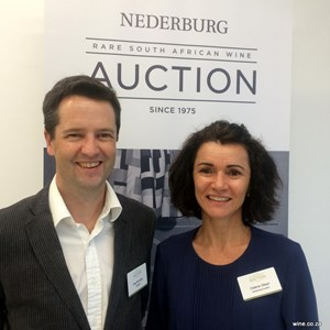 Nederburg Auction 2017 Pre-Auction tasting - Paul de Kock & Dalene Steyn