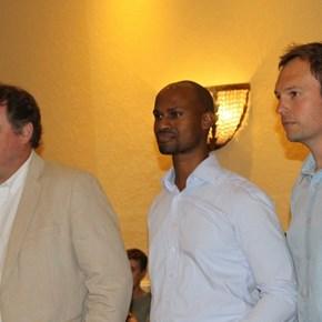 Bruwer Raats, Mzo Mvemve & Gavin Bruwer Slabbert
