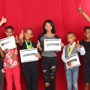 Delheim Team at Afterschool Club Prize Giving