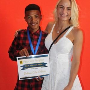 Pebbles Afterschool Club Prize Giving 2017 - Jabian du Plessis & Tanya