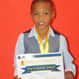 Pebbles Afterschool Club Prize Giving 2017 - Tristan Jacobs
