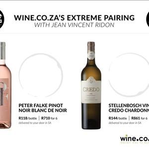 Peter Falke & Stellenbosch Vineyards Credo Chardonnay