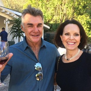 Roundhouse new owner ex Springbok Ray Mordt and Juliet Cullinan herself