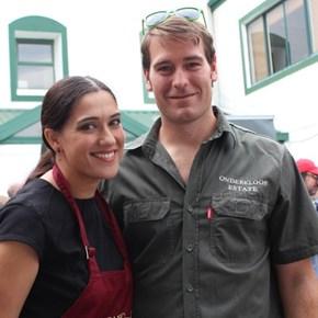Yves Musfeld & his wife (Onderkloof)