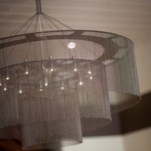 Willowlamp ball and chain chandalier