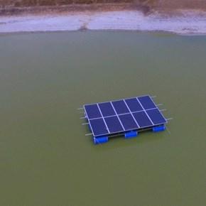 Solar on the dam