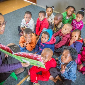 The Villiera ECD Centre reading