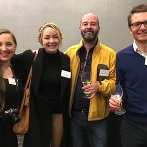 Kirsten & Gosia (Glou Glou), James Petersen & Roland Peens