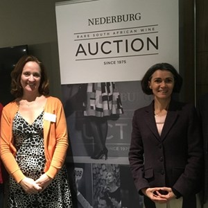 Nederburg Team -  Juanita Smith, Sarah Jordaan, Dalene Steyn & Paul de Kock