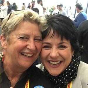Judy Brower & Wanda Vlok