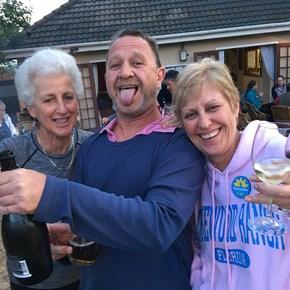 Penny, Karl & Shirley - #tastesunshine at Somerset West Tennis Club