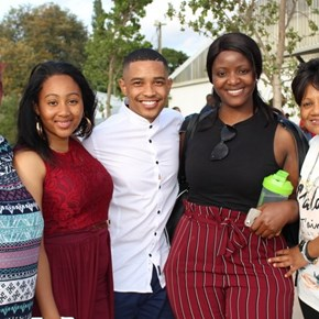 Jamie-Lee Appolis, Yoliswa Masekwane and family members