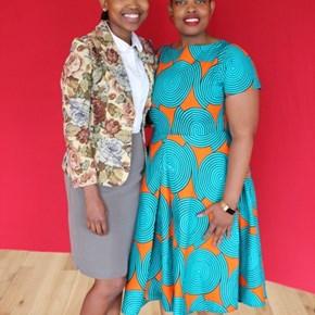 Unathi Mantshogo & Nomone Kubheka