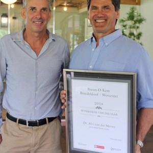 Wynand du Toit (Co-owner Brenn-O-Kem) & Dr Alvi vd Merwe