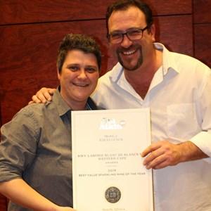 Izele van Blerk & Marco Ventrella - KWV - Best Value Sparkling Wine