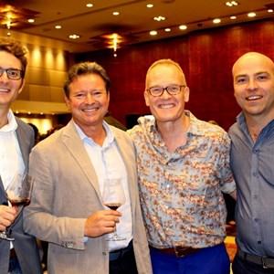 Roland Peens, Frank Kitbourn,Tim Atkin and Higgo Jacobs