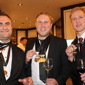 The medalled Uni Wines guys