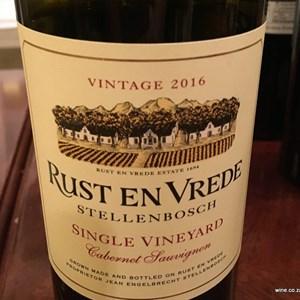 Rust en Vrede Stellenbosch Single Vineyard
