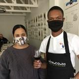 Red Blend tasting @wine.co.za - presented by PYDA student Mlondolozi Mketo