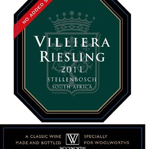 Woolworths Riesling - no SO2