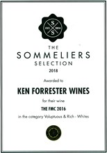 Sommerliers Selection 2018 The FMC 2016 Certificate