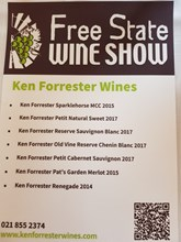Free State Wine Show