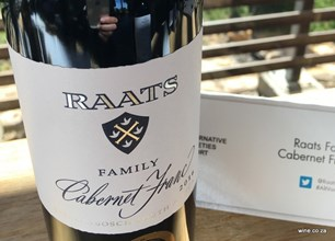 Raats Family Reserve Cab Franc - top red