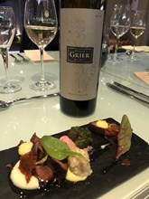 Domaine Grier Alba with Springbok sushi