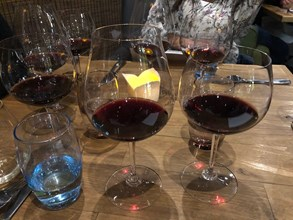 5. Each wine served in a complimentary Riedel Glass to show it at its best