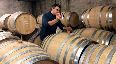 42. Checking the barrels with Raphael (1)
