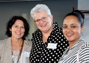 Adele Dixon, Linda Burger & Suheena Williamson