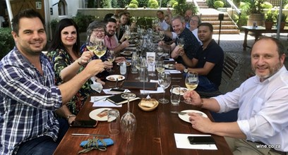 Kleine Zalze 25th - Cheers from all