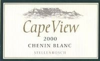 Cape View Chenin Blanc 2000