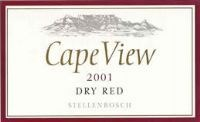 Cape View Dry Red 2001