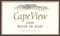 Cape View Rouge De Kaap 2000