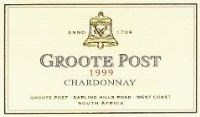 Groote Post Chardonnay 1999