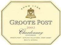 Groote Post Unwooded Chardonnay 2002