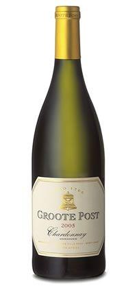 Groote Post Unwooded Chardonnay 2005