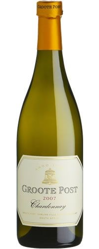 Groote Post Wooded Chardonnay 2007