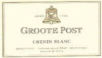 Groote Post Chenin Blanc 2001