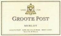 Groote Post Merlot 2000