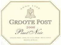 Groote Post Pinot Noir 2000