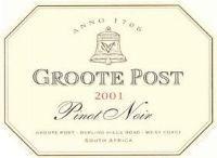 Groote Post Pinot Noir 2001