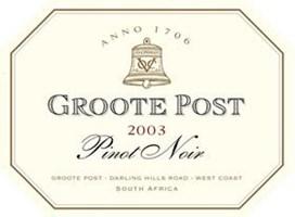 Groote Post Pinot Noir 2003