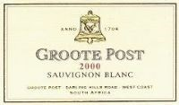 Groote Post Sauvignon Blanc 2000